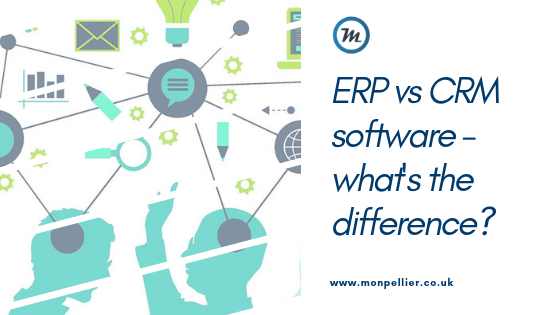erp vs crm software whats the difference