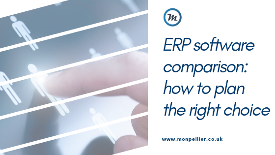 erp software comparison how to plan the right choice